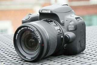 Canon Eos 200D Lengkap Credit Cepat 3Menit Cair