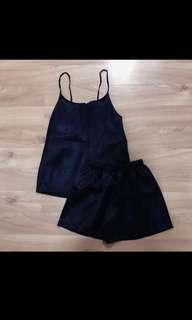 Silk Nighties (Navy Blue)