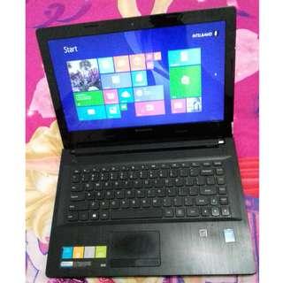 Laptop Lenovo G40-70 Core i3 Lengkap Kondisi Bagus