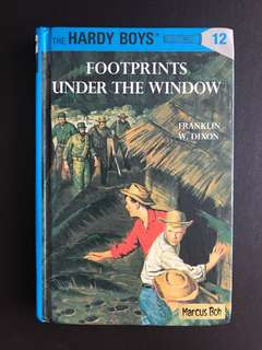 The Hardy Boys: Footprints under the window Hardcover