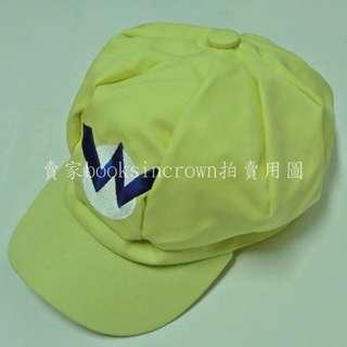【超級瑪利歐 壞瑪利 瓦利歐 Wario 帽子 黃色】Mario 八角帽 超級瑪莉歐 超級瑪麗 馬力歐 兄弟 馬里奧