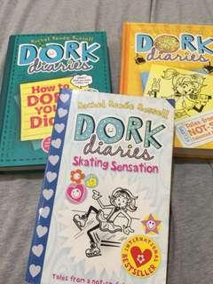 Dork diaries set