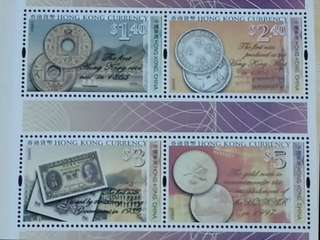 香港貨幣小全張