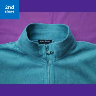 Jaket Aqua Blues Tosca Original