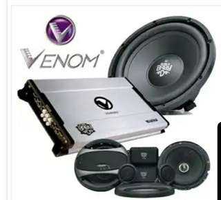 Venom audio mobil dengan cicilan gampang