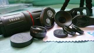 4n 1 apexel zoom lens