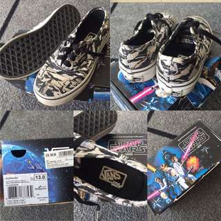 Star Wars Vans for KIDS