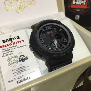 LIMITED🌟EDITION BABYG CASIO SPORTS WATCH : 1-YEAR OFFICIAL WARRANTY: 100% ORIGINALLY AUTHENTIC BABY-G-SHOCK RESISTANT DIGITAL-ANALOGUE WATCH in ABSOLUTELY TOUGHNESS Best For Most Rough Users : BGA-190KT-1BDR HELLO🐱KITTY