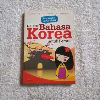 Percakapan Sehari-hari dalam Bahasa Korea untuk Pemula (kamus korea)