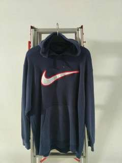Jaket hoodie nike size L made in VIETNAM second /preloved