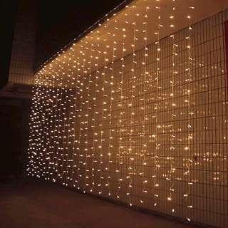 3x3 meter curtain fairy light