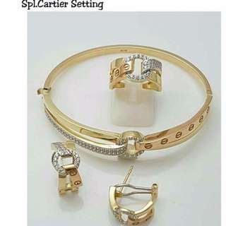 Authentic/pawnable Special Cartier Setting jewels