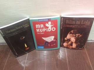 Wattpad pocket books 3pcs.