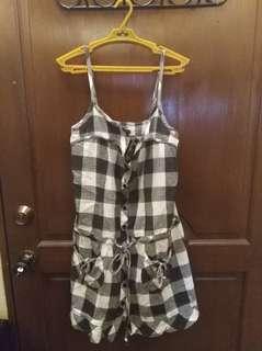 Polo club checkered dress