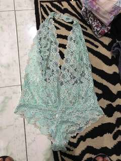 "REPRICED!! ""Fredericks Of Hollywood"" Lace lingerie/ bodysuit"