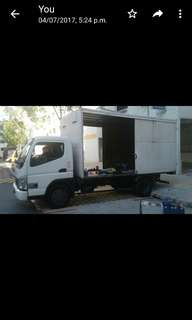 Rental 10ft mitsubishi fuso - very new