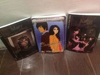 3pcs. Wattpad pocket books