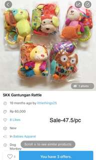 Sale-Gantungan rattle