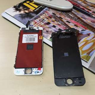 Iphone 5S white LCD replacement