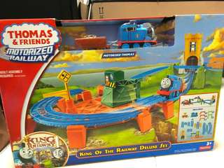 Thomas & Friends Motorized Railway - King of the Railway Deluxe Set
