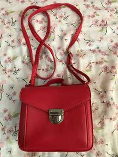 H&M small red bag