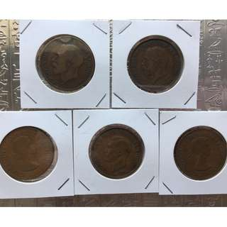 錢幣收藏 English Penny