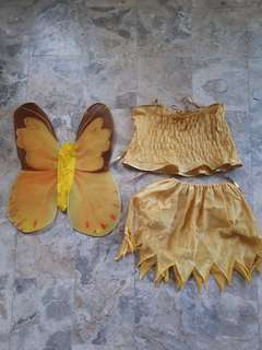 fairy costume 3-4yrs old