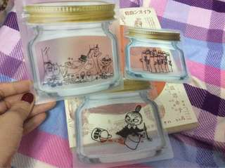 🚚 Moomin嚕嚕米小物密封袋in red6月號