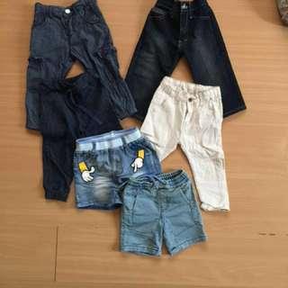 REPRICED!📌Bundle B (assorted pants/shorts)