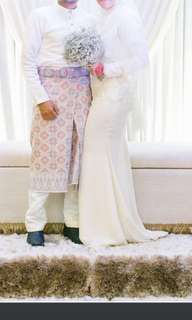 Solemnization Dress / Reception Dress (FOR RENT)