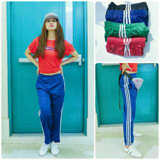 Women's Side Stripe Track Pants