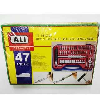 Ali 47 piece Bit & Socket Multi-Tool Set
