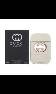 gucci guilty platinum women 75ml