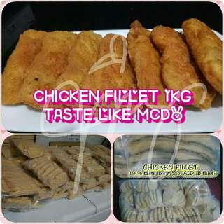 MCDO CHICKEN FILLET 1KG