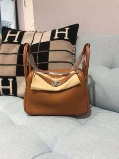 Hermes Lindy26 gold PHW