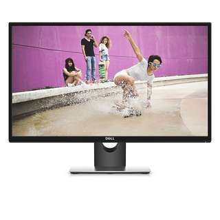 Dell SE2717H 27 inch IPS Monitor (6 ms, Full HD 1920 x 1080 at 75 Hz, AMD FreeSync, VGA/HDMI) - Black ( 3 Yrs Onsite Local Warranty )