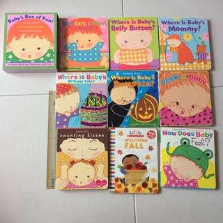 Bundle of 9 Karen Katz Board Books