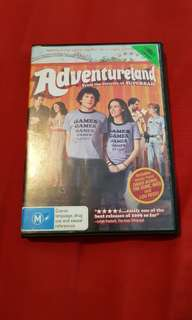 Adventureland DVD. Ex-Rental