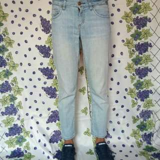 ankle jeans uniqlo