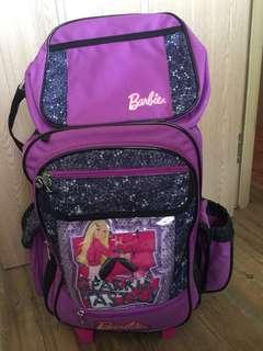 Barbie school bag stroller