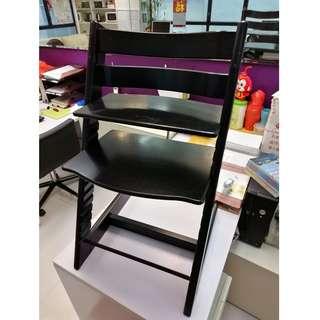 Stokke High Chair (Black, Pre-owned)