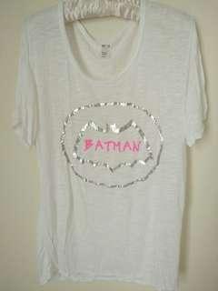 🚚 Batman英文字薄罩衫 #一百元好物