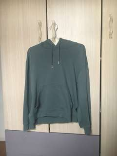 H&M Green Oversized Hoodie