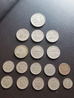 Old Malaysian Coins