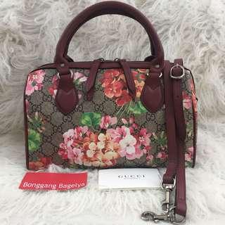 Gucci Floral Top Handle Bag