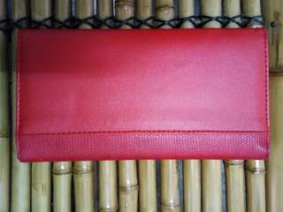 Red Avon Wallet