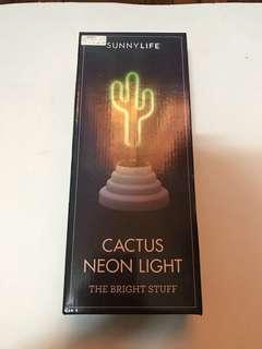 Sunny Life Cactus Neon Light