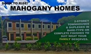 Mahogany Homes affordable townhouses in san mateo rizal