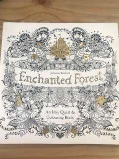Enchanted Forest Adult Coloring Book