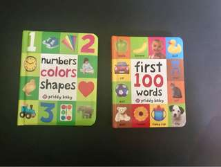 First 100 Words & Numbers Colors Shapes by Roger Priddy